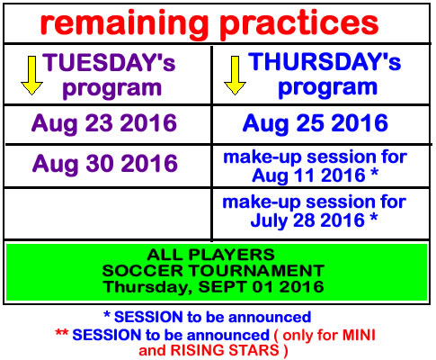 remaining-practices-summer-soccer