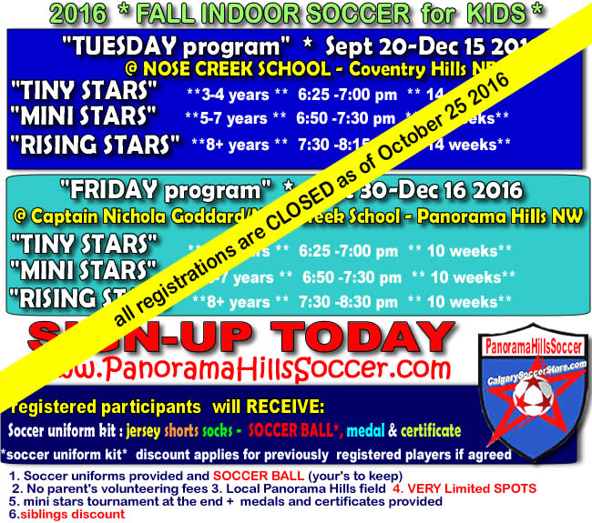 new-fall-schedule-soccer-for-kids-panorama-hills-closed