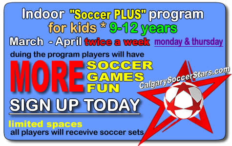 april soccer-plus-calgary-soccer-stars-camp for kids timbits panorama hills soccer