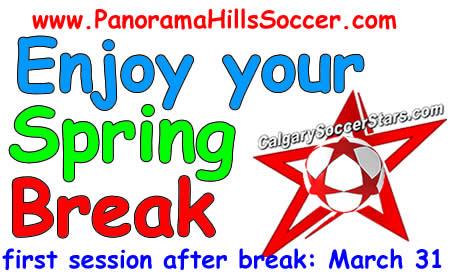 Panorama HIlls Soccer timbits spring break