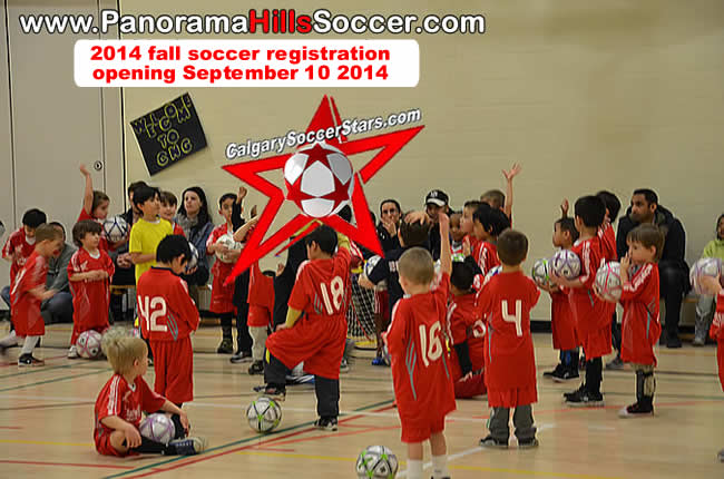 Indoor soccer for kids in Panorama Hills NW, calgary soccer stars