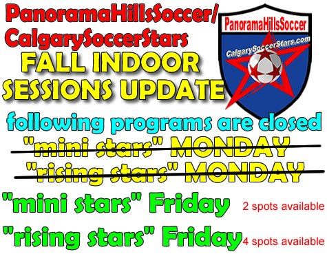 panorama hills soccer fall 2014 indoor