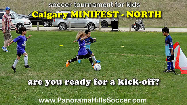 calgary minifest soccer for kids