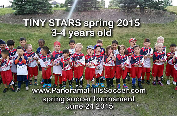 mini stars panorama hills soccer tournament for kids
