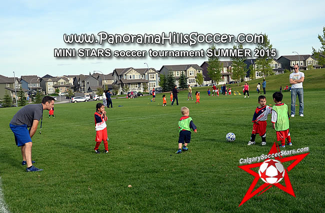 *TINY STARS* SUMMER soccer tournament 2015 , panorama hills soccer timbits
