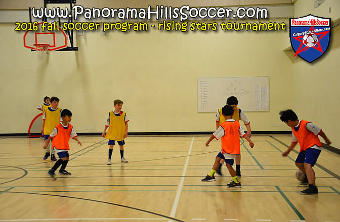 2016 Fall Soccer Tournament: RISING Stars 8+ years old